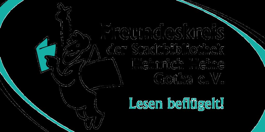 Freundeskreis Stadtbibliothek Gotha Logo